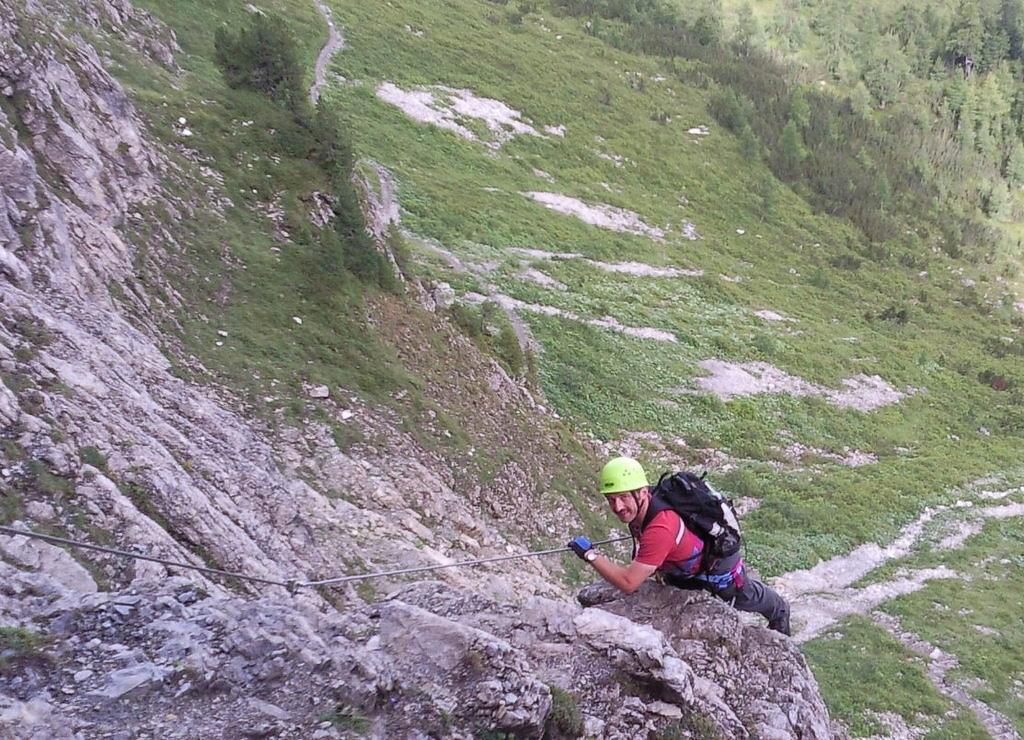 Klettersteig Gerlosstein